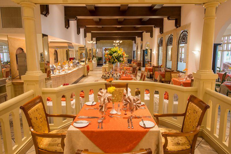 Restaurante Casa Blanca - Hoteles Globales Camino real Managua